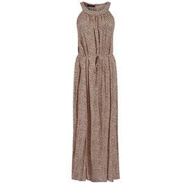 Γυναικείο Φόρεμα Celestino SH1518.8050 Μπεζ Καφέ