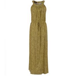 Γυναικείο Φόρεμα Celestino SH1518.8050 Κίτρινο Καφέ