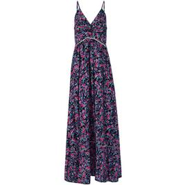 Γυναικείο Φόρεμα Celestino SH1539.8205 Μωβ Φλοράλ