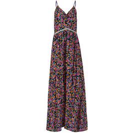 Γυναικείο Φόρεμα Celestino SH1539.8205 Πορτοκαλί Φλοράλ