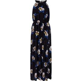 Γυναικείο Φόρεμα Celestino SH1708.8639 Μαύρο Λευκό