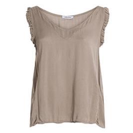 Γυναικεία Μπλούζα Celestino SH7885.4629 Καφέ Ανοιχτό