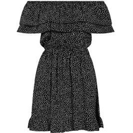 Γυναικείο Φόρεμα Celestino SH8003.8508 Μαύρο Πουά