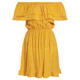 Γυναικείο Φόρεμα Celestino SH8003.8508 Κίτρινο Πουά