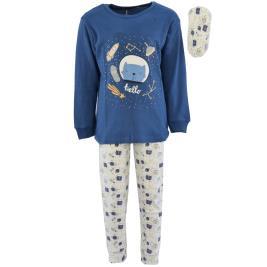 Παιδική Πυτζάμα Hashtag H-121 Μπλε Αγόρι