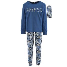 Παιδική Πυτζάμα Hashtag H-130 Μπλε Αγόρι