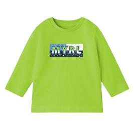 Βρεφική Μπλούζα Mayoral 11-00108-041 Πράσινο Αγόρι