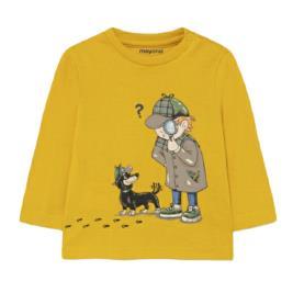 Βρεφική Μπλούζα Mayoral 11-02066-035 Κίτρινο Αγόρι