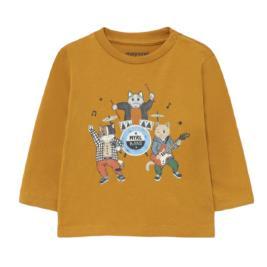 Βρεφική Μπλούζα Mayoral 11-02073-090 Ώχρα Αγόρι