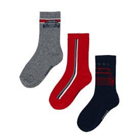 Παιδικές Κάλτσες Σετ Mayoral 11-10137-010 Γκρι Αγόρι