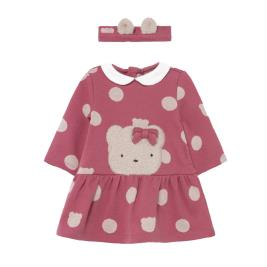 Βρεφικό Φόρεμα Mayoral 11-02808-092 Φούξια Κορίτσι