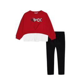 Παιδικό Σετ-Σύνολο Mayoral 11-04743-088 Κόκκινο Κορίτσι
