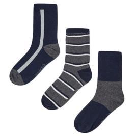 Παιδικές Κάλτσες Σετ Mayoral 11-10134-065 Ανθρακί Αγόρι
