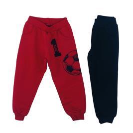 Παιδικό Σετ-Παντελόνι 2 Τμχ. Joyce 216366 Κόκκινο Μαύρο Αγόρι
