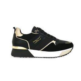Γυναικείο Sneaker Renato Garini 18-21EX159 Μαύρο