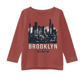 Παιδική Μπλούζα Name It 13194207 Κεραμιδί Αγόρι