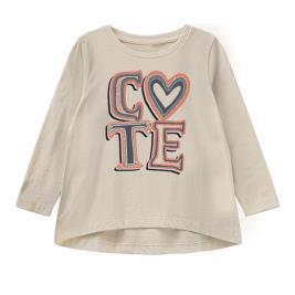 Παιδική Μπλούζα Name It 13194223 Μπεζ Κορίτσι