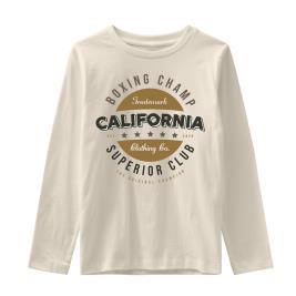 Παιδική Μπλούζα Name It 13194157 Μπεζ Αγόρι