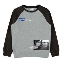 Παιδική Μπλούζα Name It 13194186 Μελανζέ Αγόρι