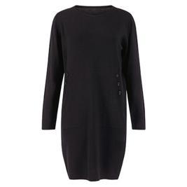 Γυναικείο Φόρεμα Celestino WM9927.8016 Μαύρο
