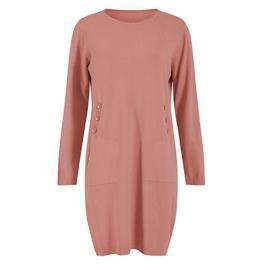 Γυναικείο Φόρεμα Celestino WM9927.8016 Ροζ