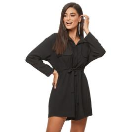 Γυναικείο Φόρεμα Anel 31871 Μαύρο
