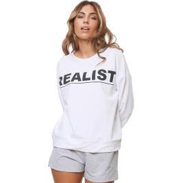 Γυναικεία Μπλούζα Anel 49679 Λευκό