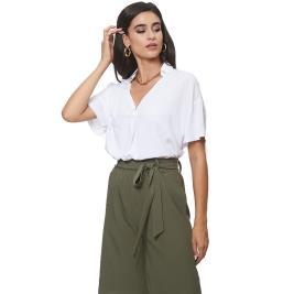 Γυναικεία Μπλούζα Anel 49691 Λευκό