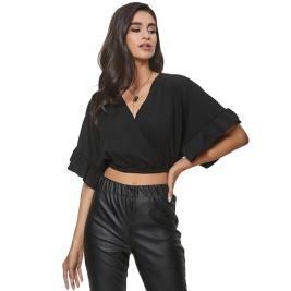 Γυναικεία Μπλούζα Anel 49709 Μαύρο