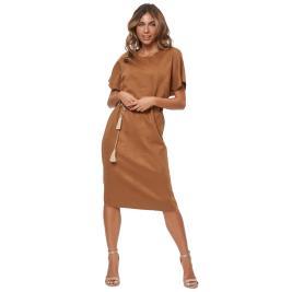 Γυναικείο Φόρεμα Anel 58794 Κάμελ