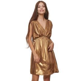 Γυναικείο Φόρεμα Anel 58807 Μπρονζέ