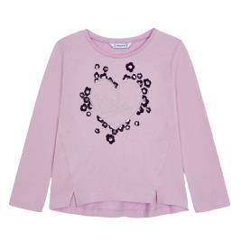 Παιδική Μπλούζα Mayoral 11-04012-071 Λιλά Κορίτσι