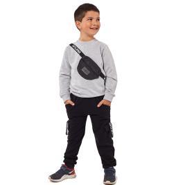 Παιδική Φόρμα-Σετ Hashtag 215813 Μελανζέ Αγόρι