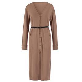 Γυναικείο Φόρεμα Celestino WM9927.8700 Καφέ Ανοιχτό