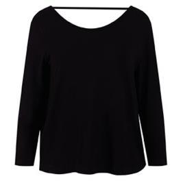 Γυναικεία Μπλούζα Celestino WM6542.4001 Μαύρο