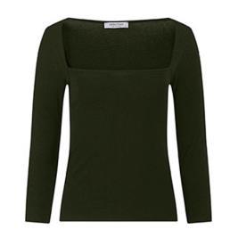 Γυναικεία Μπλούζα Celestino WM6544.4001 Σκούρο χακί