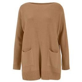 Γυναικεία Μπλούζα Celestino WM9844.9511 Κάμελ