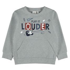 Παιδική Μπλούζα Name It 13194217 Μελανζέ Αγόρι