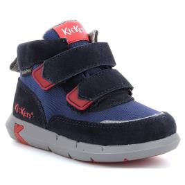 Παιδικό Μποτάκι Kickers JUNIBO 878780-10-101 NAVY RED Αγόρι