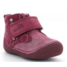 Παιδικό Μποτάκι Kickers SABLO HELLOKITTY 879022-10-183.A BURGUNDY GLITTER