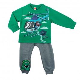 Παιδική Φόρμα-Σετ Joyce 6562 Πράσινο Αγόρι