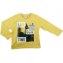 Παιδική Μπλούζα Sprint 21681403 Μουσταρδί Αγόρι