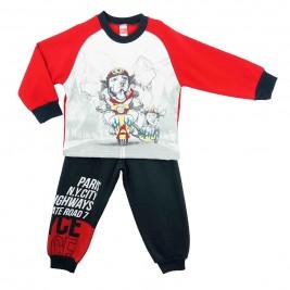 Παιδική Φόρμα-Σετ Joyce 6552 Κόκκινο Αγόρι