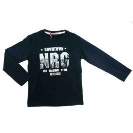 Παιδική Μπλούζα Energiers 13-116038-5 Μαύρο Αγόρι