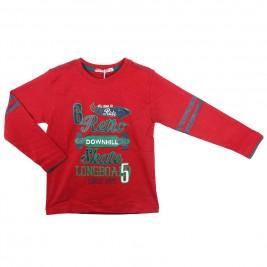 Παιδική Μπλούζα Energiers 13-116016-5 Μπορντώ Αγόρι