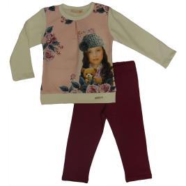Παιδική Φόρμα-Σετ Domina 162008 Εκρού Κορίτσι