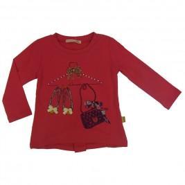 Παιδική Μπλούζα Domina 162036 Φούξια Κορίτσι