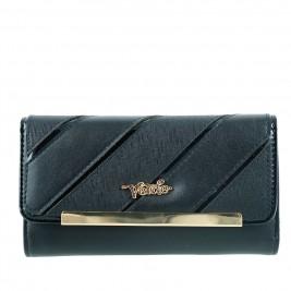 Γυναικείο Πορτοφόλι Verde 18-0000742 Μαύρο