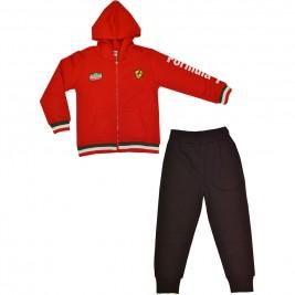Παιδική Φόρμα-Σετ Domina 162155 Κόκκινο Αγόρι