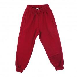 Παιδικό Παντελόνι Φόρμας Trax 30857 Μπορντώ Αγόρι